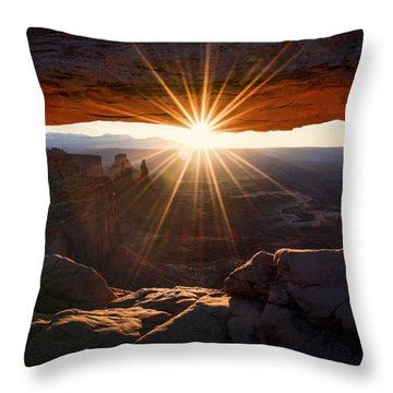 Mesa Glow Throw Pillow