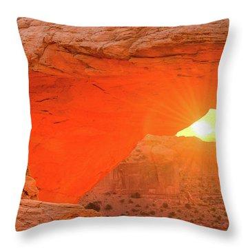 Mesa Rising Left Throw Pillow