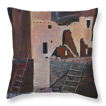 Mesa Verde 2 Throw Pillow by Cher Devereaux
