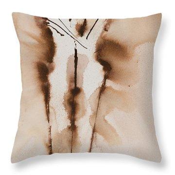 Mesh II  His Divine Love Series No. 1285 Throw Pillow