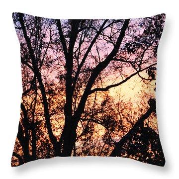 Mesmerizing Sunset Throw Pillow