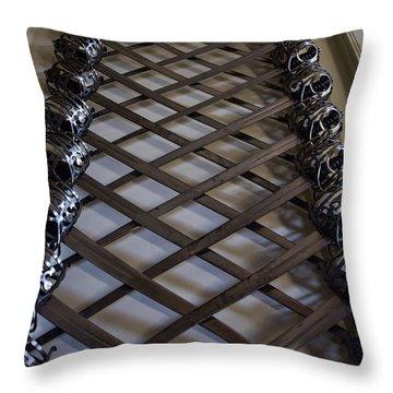 Mesmerizing Swords Throw Pillow