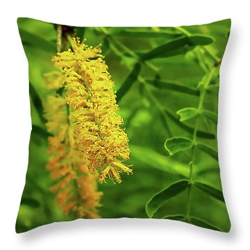 Mesquite Bloom Throw Pillow