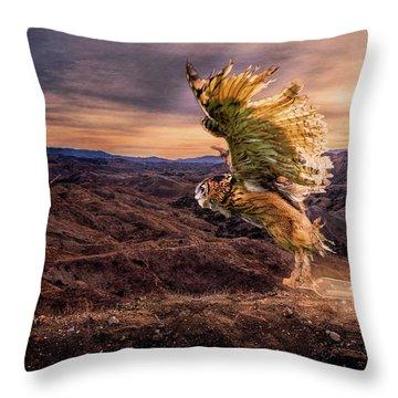 Messenger Of Hope Throw Pillow