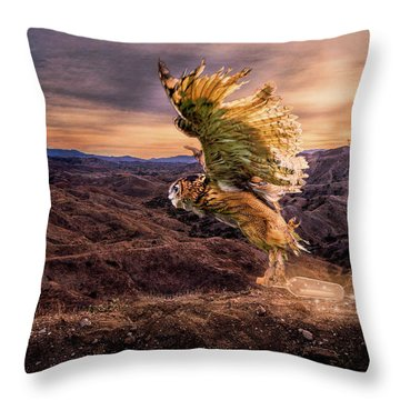 Messenger Of Hope Throw Pillow