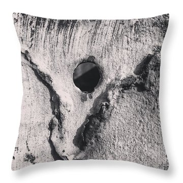 Metal Horse Throw Pillow