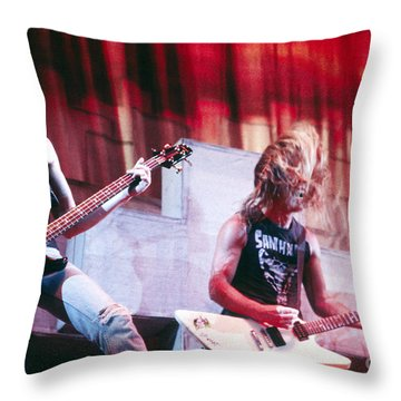Metallica Throw Pillows