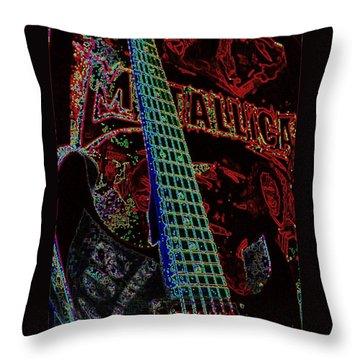 Metallica Throw Pillow