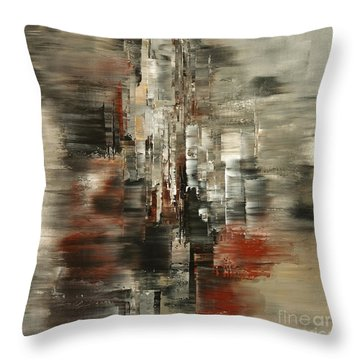 Metals And Magnetism Throw Pillow