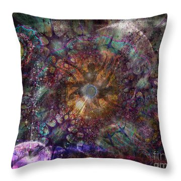 Metamorphignition Throw Pillow