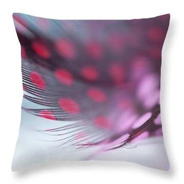 Throw Pillow featuring the photograph Metamorphoses. Angel Flight Series  by Jenny Rainbow