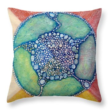 Metamorphosis A Throw Pillow
