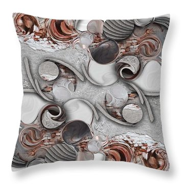 Metamorphosis And Approach Throw Pillow