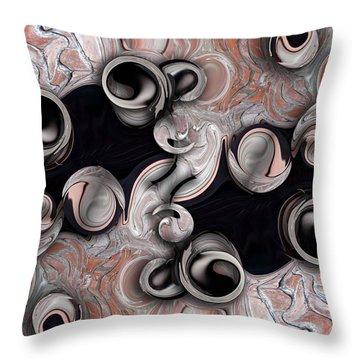 Metamorphosis And Echo Throw Pillow