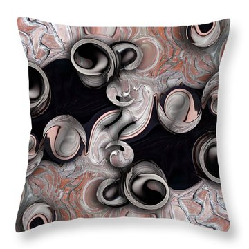 Metamorphosis And Echo Throw Pillow