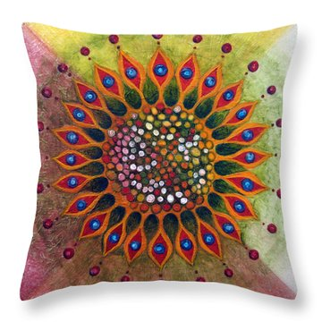 Metamorphosis B Throw Pillow