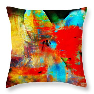 Metamorphosis  Throw Pillow by Leanne Seymour