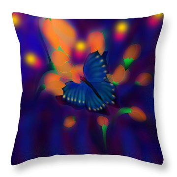 Metamorphosis Throw Pillow by Latha Gokuldas Panicker