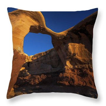 Metate Arch Throw Pillow