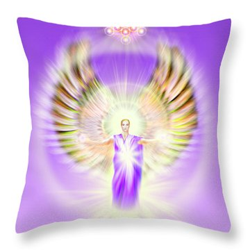 Metatron - Pastel Throw Pillow