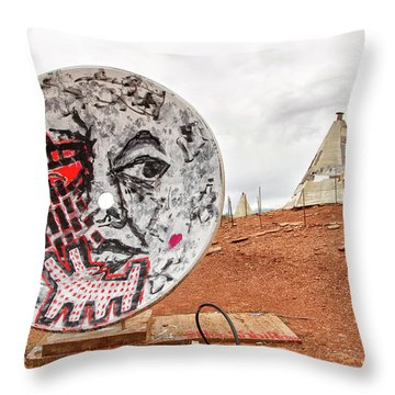 Meteor City Trading Post 11 Throw Pillow