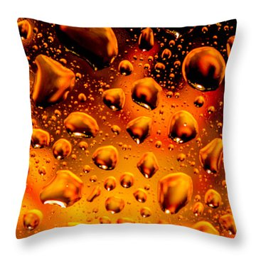 Meteor Diffusion Throw Pillow by Bruce Pritchett