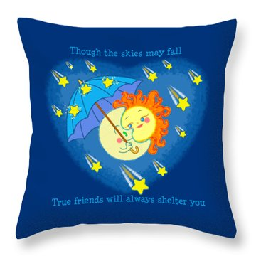 Meteor Shower 3 Throw Pillow by J L Meadows