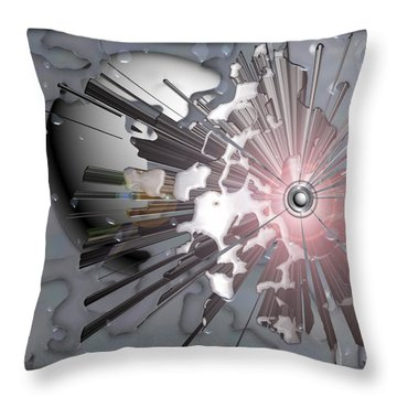 ' Meteors Might ' Throw Pillow