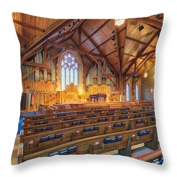 Throw Pillow featuring the photograph The Sanctuary  by Daniel George