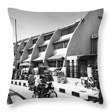 Methodist Church, Tinubu Square Throw Pillow