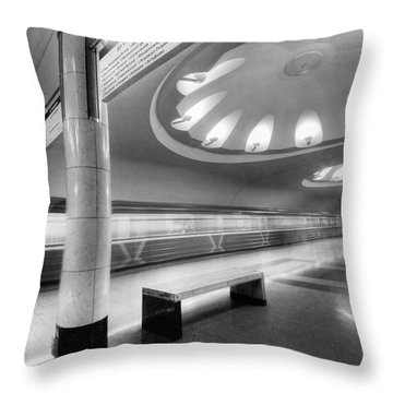 Metro #1591 Throw Pillow