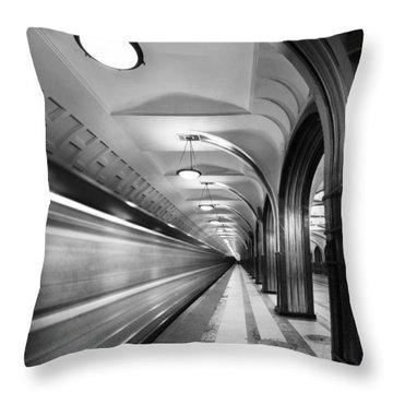 Metro #5147 Throw Pillow