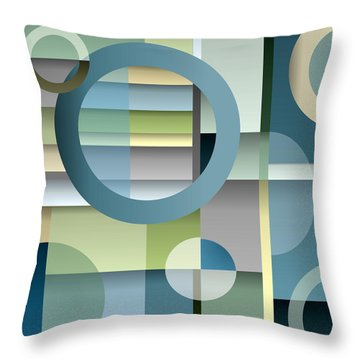 Metro Throw Pillow by Tara Hutton
