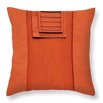 Metro Window Throw Pillow by Merrimon Crawford