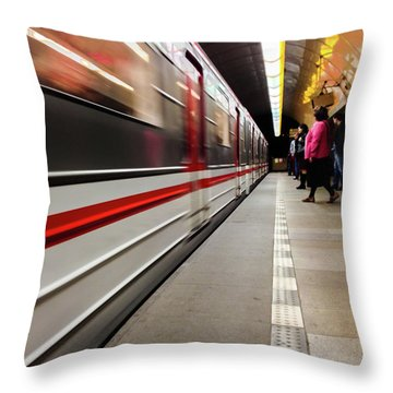 Metroland Throw Pillow