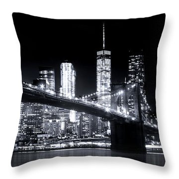 Metropolis Throw Pillow by Mark Andrew Thomas