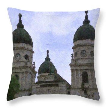 Metropolitan Cathedral Throw Pillow by Jeffrey Kolker