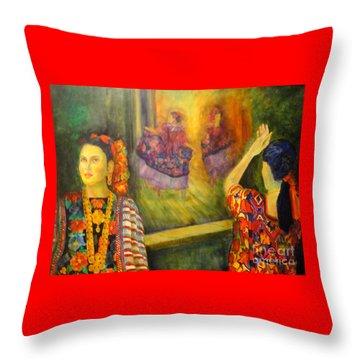 Mexican Festival Throw Pillow