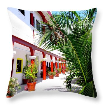 Mexican Hacienda Throw Pillow