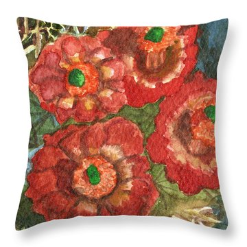 Mexican Pincushion Throw Pillow