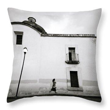 Mexican Twilight Throw Pillow by Shaun Higson