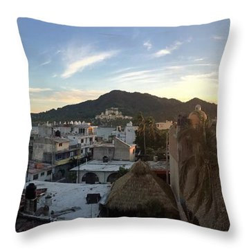 Mexico Memories 3 Throw Pillow