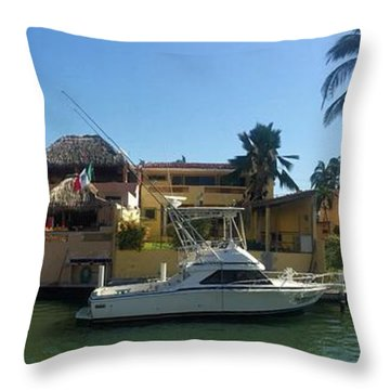 Mexico Memories 5 Throw Pillow