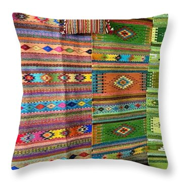 Mexico Memories 8 Throw Pillow