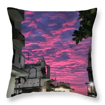 Mexico Memories 1 Throw Pillow