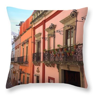 Throw Pillow featuring the photograph Mexico by Mary-Lee Sanders