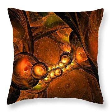 Mezzanine-- Level 3 Throw Pillow