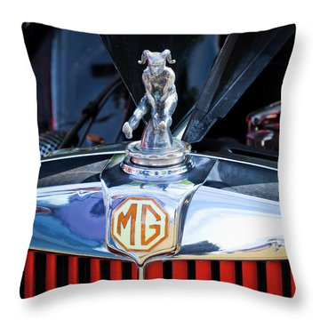 Throw Pillow featuring the photograph Mg Fool by Chris Dutton