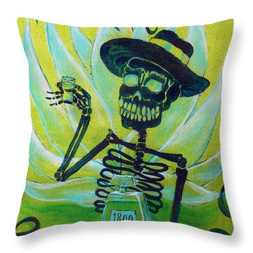 Mi Tequila Throw Pillow