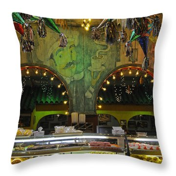 Mi Tierra Throw Pillow